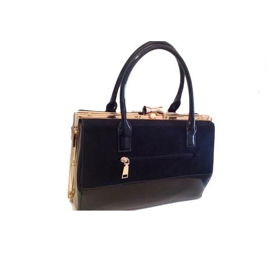 Τσάντα μαύρη κλασική